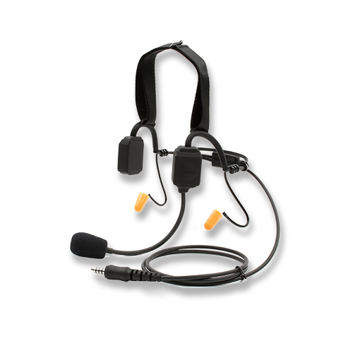 Bone conduction headset with dynamic flexible microphone
