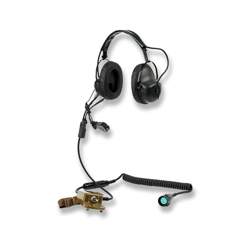 Military tactical headset