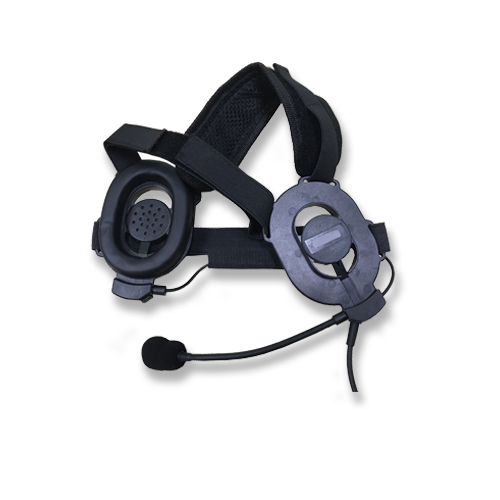 Dual-side light-weight tactical headset